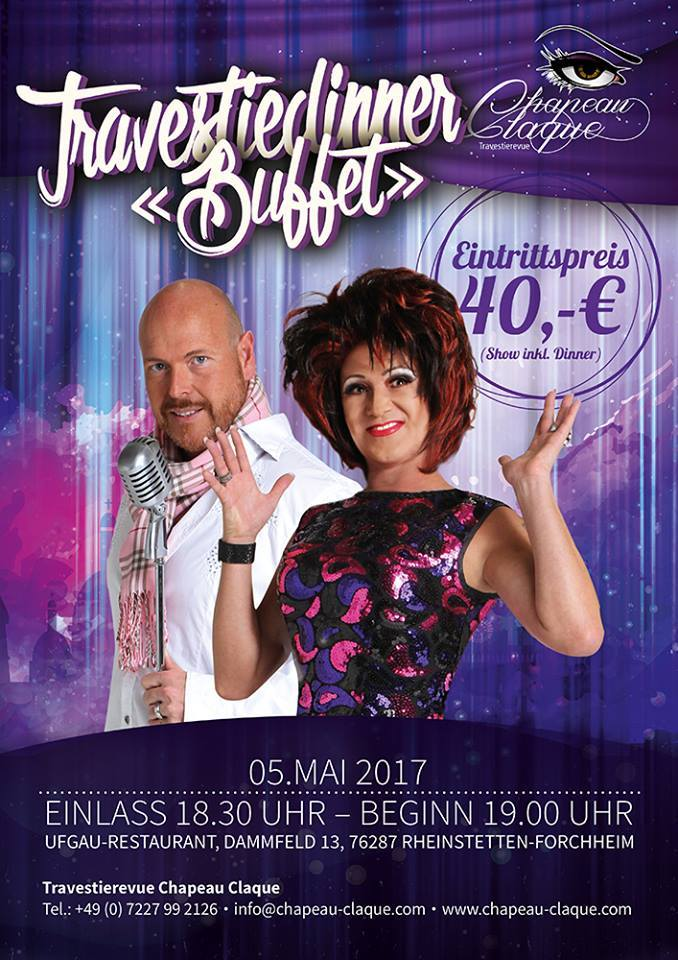 5.5. Travestiedinner in Forchheim