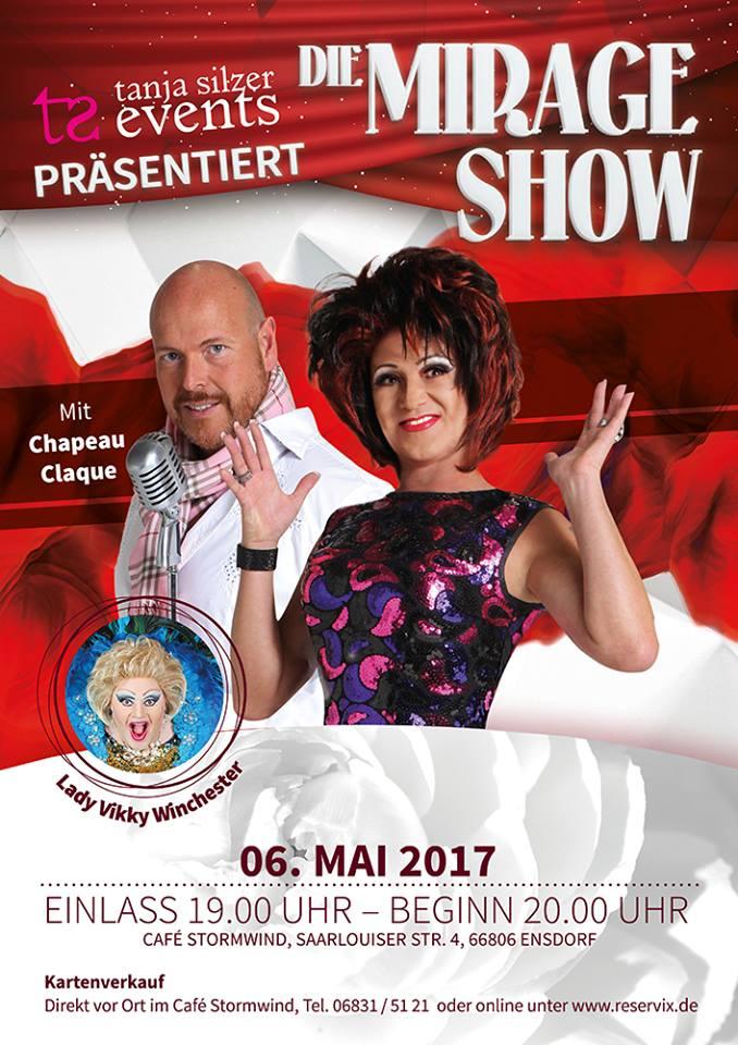 Mirage Show - Saarlouis @ Stormwind - Essen, Trinken, Feiern  | Ensdorf | Saarland | Deutschland